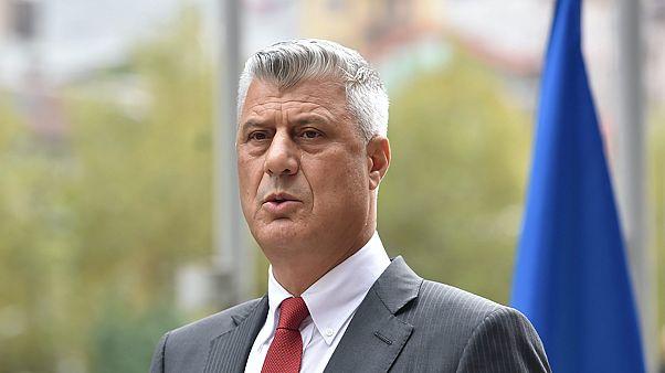 Lemond a koszovói elnök, mert megerősítették ellene a háborús vádakat