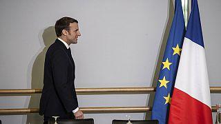 Macron in Mulhouse, 18.02.2020