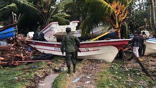 Nicaraguans ask for humanitarian aid after the devastation of Hurricane Eta