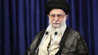 المرشد الأعلى لجمهورية إيران الإسلاية علي خامنئي في طهران. 2020/09/01
