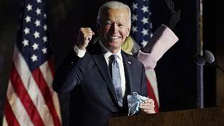 جو بايدن الرئيس السادس والأربعين للولايات المتحدة