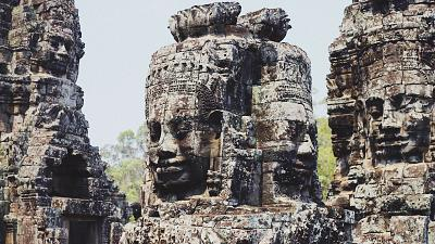 Angkor Wat temples, Siem Reap, Cambodia.