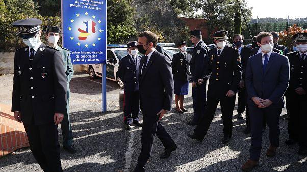 Emmanuel Macron veut renforcer le contrôle aux frontières