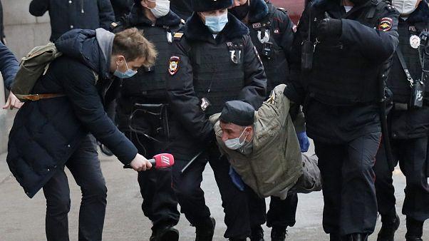 Rusya'da tutuklu gazeteci