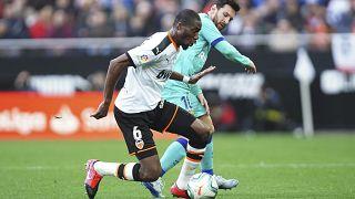 Geoffrey Kondogbia découvre l'Atlético de Madrid