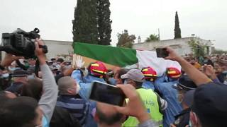 Lakhdar Bouregaa funeral: Respect and anti-government slogans for Algerian icon