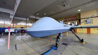 Mühimmat taşıyabilen MQ-9 Reaper insansız hava aracı