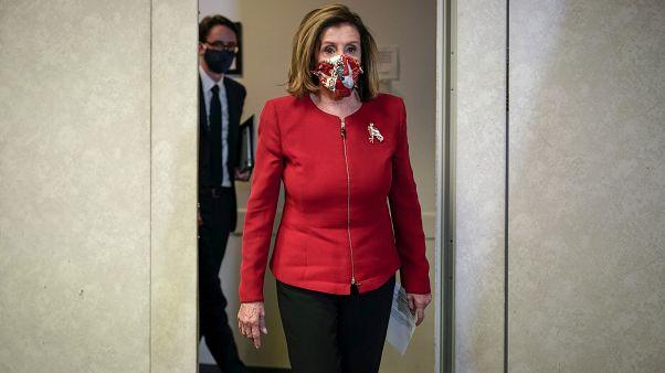 رئيسة مجلس النواب الديمقراطية نانسي بيلوسي