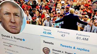 حساب ترامب في تويتر