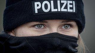 Német rendőr szolgálatban