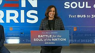Kamala Harris, cerca de hacer historia como primera vicepresidenta de Estados Unidos