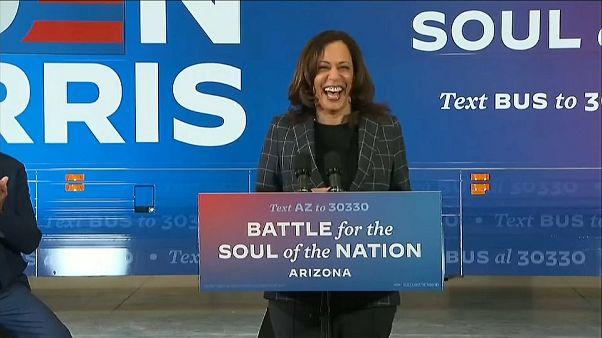 Kamala Harris: Erste Frau und Schwarze im Vizepräsidentenamt