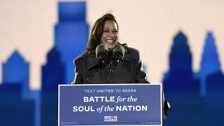 Η Κάμαλα Χάρις, εκλεγείσα αντιπρόεδρος των ΗΠΑ