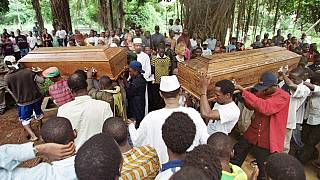 Cameroon Buries 7 Children Lost to Gun Attack in Kumba
