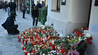 Viyana'daki saldırıda ölenler anıldı
