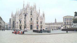En Italie, retour à la case confinement à Milan