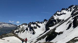 Belledonne (Chaîne de Belledonne). Mountain range in France