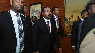 رئيس الوزراء الإثيوبي أبي أحمد في أديس أبابا لحضور القمة الإفريقية. 2020/02/09