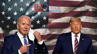 دونالد ترامپ و جو بایدن در رقابت انتخابات ریاست جمهوری