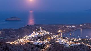 Serifos (pictured) is one of many under-appreciated Greek islands which were wooing tourists - even before the pandemic.