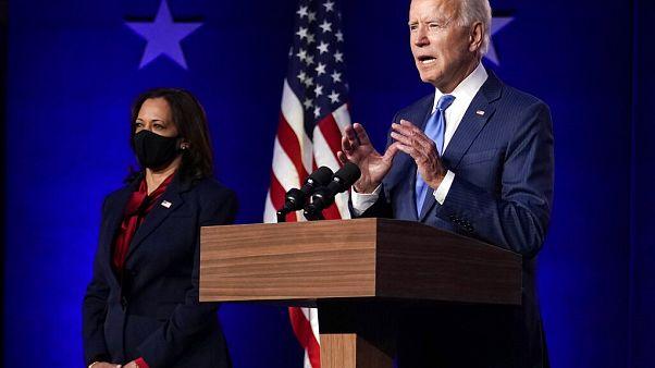 Joe Biden eleito presidente dos EUA