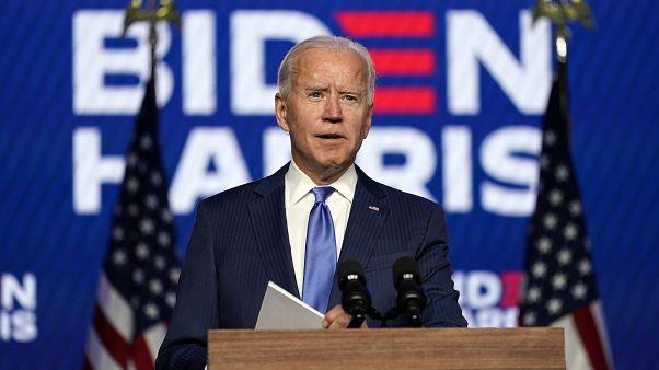 Joe Biden, az USA megválasztott elnöke
