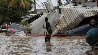 Разрушения в Гондурасе