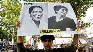 Demo für Nasrin Soutoudeh (ARCHIV)
