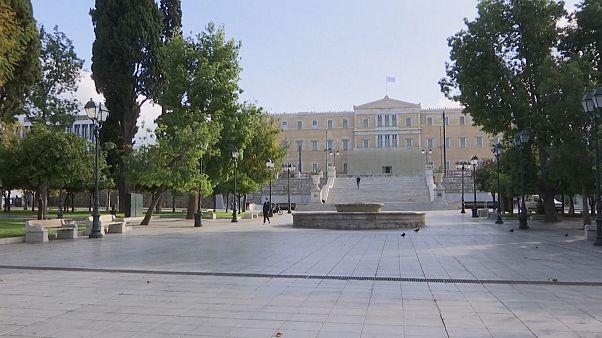 شاهد: اليونان تحت الإغلاق بسبب كورونا