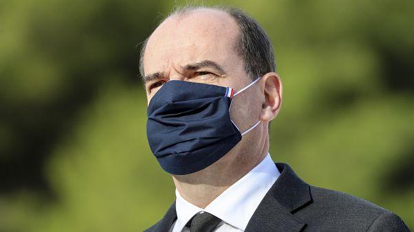 French Prime Minister Jean Castex in Nice, southern France, Saturday Nov. 7, 2020,