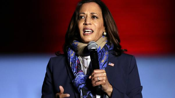 Us Election Kamala Harris Becomes First Black Woman South Asian Elected Vice President Euronews