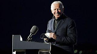 Joe Biden lors d'un discours à la veille de l'élection présidentielle le 2 novembre 2020