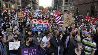إعلان فوز بايدن ـ نيويورك. 2020/11/07
