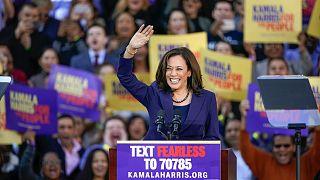 Kamala Harris kampánynyitója szülővárosában, a kaliforniai Oaklandben