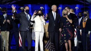 Kamala Harris ve Joe Biden