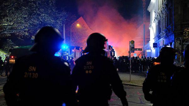 Leipzig am Samstagabend
