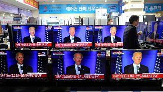 Los dirigentes mundiales felicitan a Joe Biden y Kamala Harris