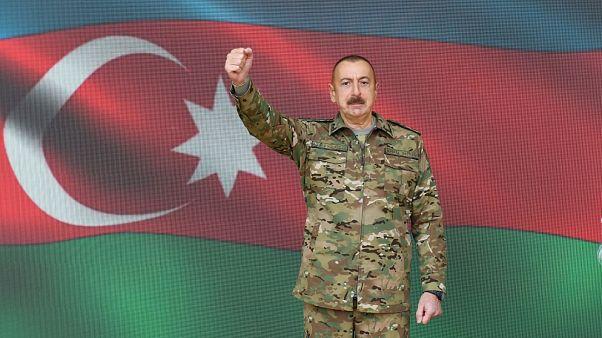 Aliyev, Şuşa'da kontrolün sağladığını duyurdu, Ermeni yetkililerden yalanlama geldi | Euronews