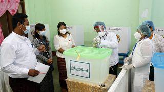 الانتخابات التشريعية في بورما