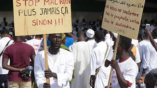 Senegal protests Mohammed cartoons despite Macron's efforts to calm tensions
