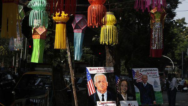احتفالات في الهند، موطن أجداد كمالا هاريس بانتخابها أول امرأة تشغل منصب نائب الرئيس في الولايات المتحدة