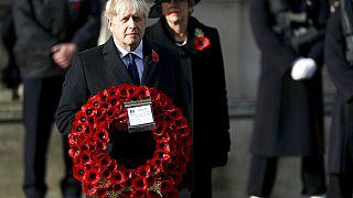 Reino Unido homenageia o soldado desconhecido