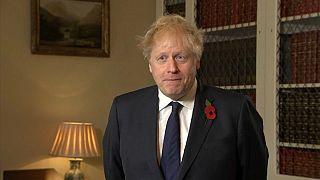 UK Prime Minister Boris Johnson