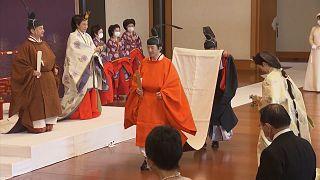 Le frère de l'Empereur du Japon Naruhito a prêté serment comme héritier du Trône