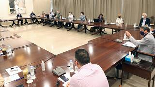 Επιδημιολογική συμβουλευτική ομάδα για τον κορωνοϊό Προεδρικό Μέγαρο, Λευκωσία, Κύπρος