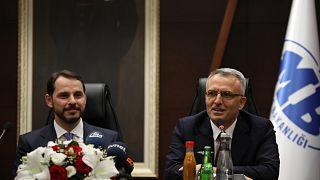 Berat Albayrak, Merkez Bankası Başkanı Naci Ağbal