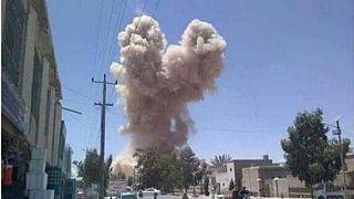 انفجار انتحاری در ولایت قندهار افغانستان