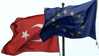AB-Türkiye bayrakları