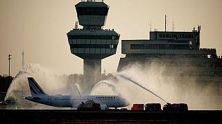 Der letzte Abflug vom Flughafen TXL