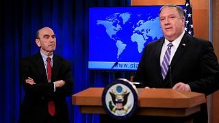 Elliott Abrams and Mike Pompeo